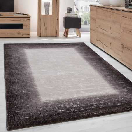 Rug, modern and appointed brilliant paillete TOSCANA 3160 Brown