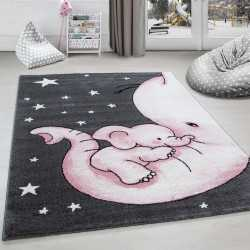 Rug child room elephant and...