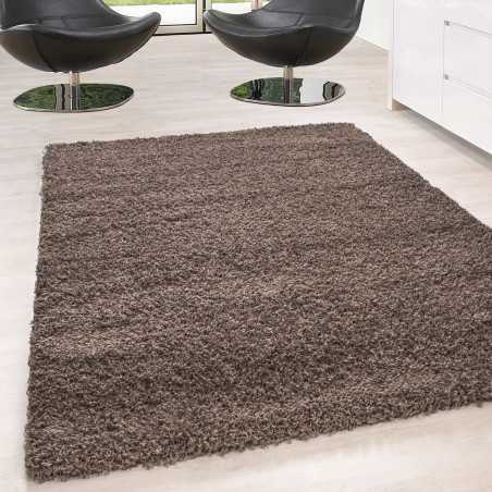 Rug Shaggy pile long single color stack Height 5cm MOCCA