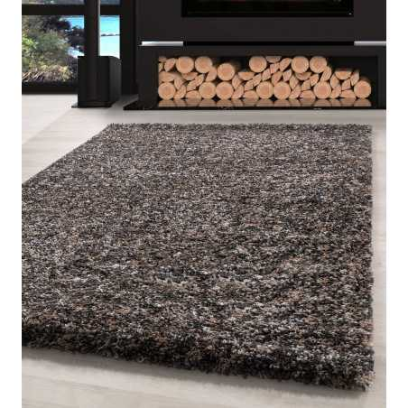 Living room Carpet Shaggy high quality Taupe Beige Grey Cream Speckled