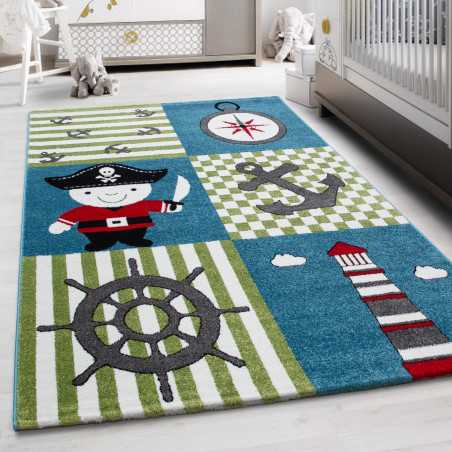 Rug Child with pattern Kids 0450 MULTI