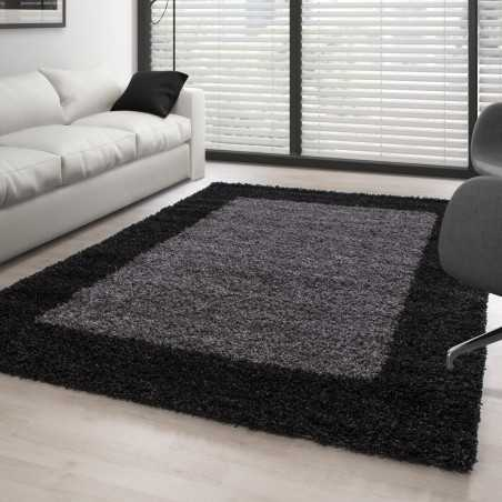 Carpet Shaggy pile long means in ANTHRACITE GREY