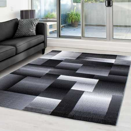 Rug modern appointed Miami 6560 BLACK