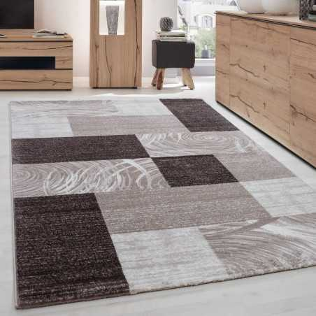Carpet modern appointed Parma 9220 BROWN