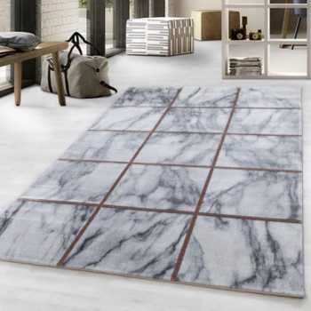 Design rug with low pile...