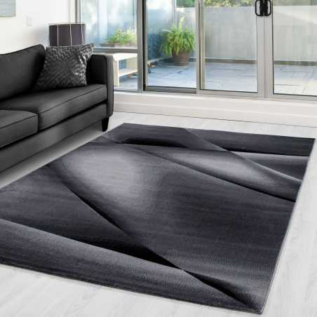 Rug modern appointed Miami 6590 Black