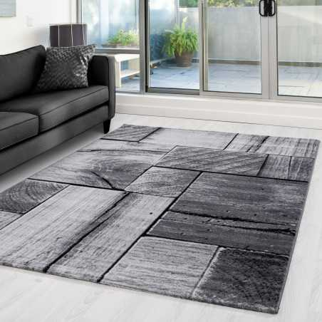 Carpet and modern appointed PARMA 9260 Black